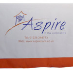 Aspire printed table cloths