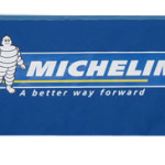 Michelin printed tablecloth